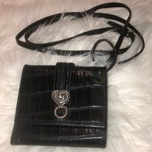 Brighton Leather Wallet crossbody good condition